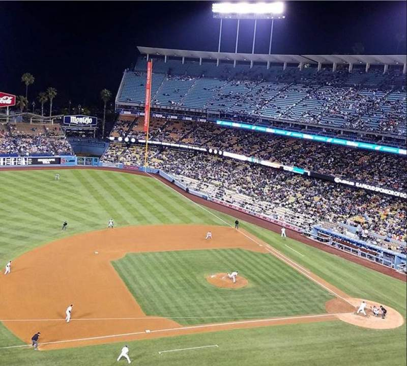 Seating view for Dodger Stadium Section 23RS Row G Seat 7