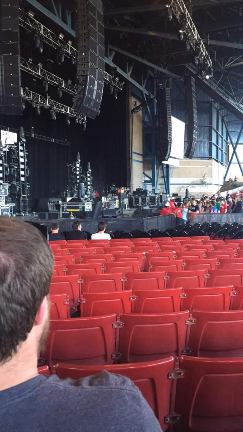 Seating view for Marcus Amphitheater Section 3 Row R Seat 24