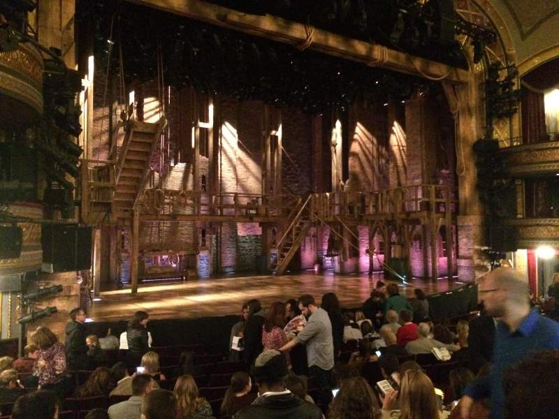 Seating view for Richard Rodgers Theatre Section Orchestra Row M Seat 17