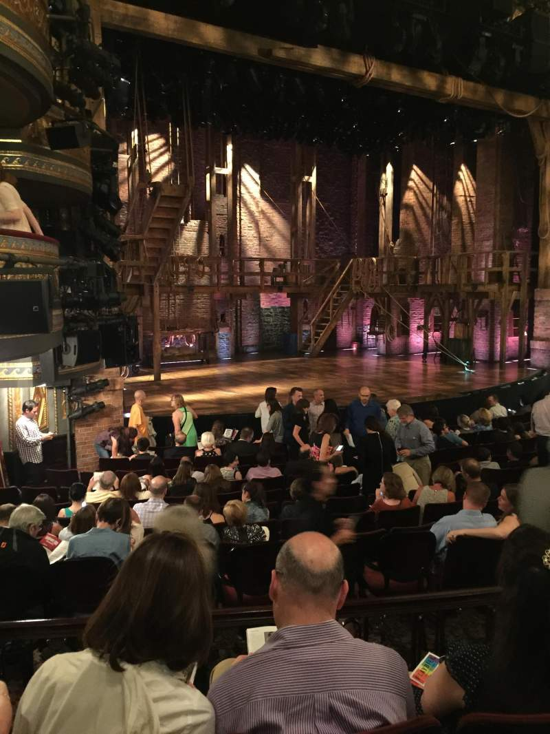 Seating view for Richard Rodgers Theatre Section Side orchestra Row O Seat 25