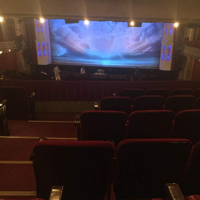 Seating view for PrivateBank Theatre Section Drcrrc Row F Seat 222