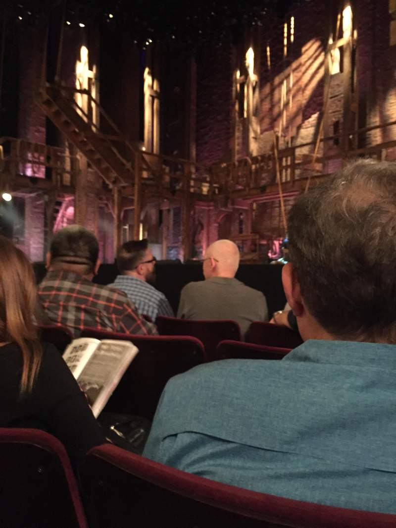Seating view for Richard Rodgers Theatre Section C Row 4 Seat 12