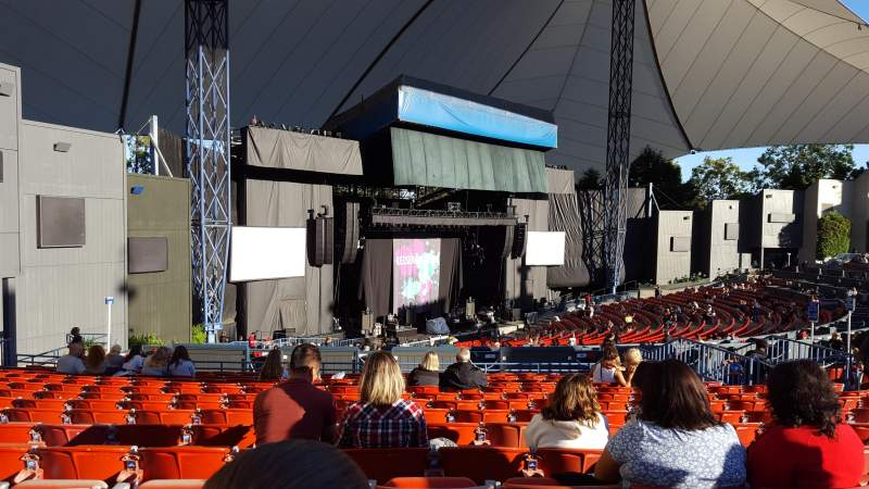 Seating view for Shoreline Amphitheatre Section 204 Row O Seat 15