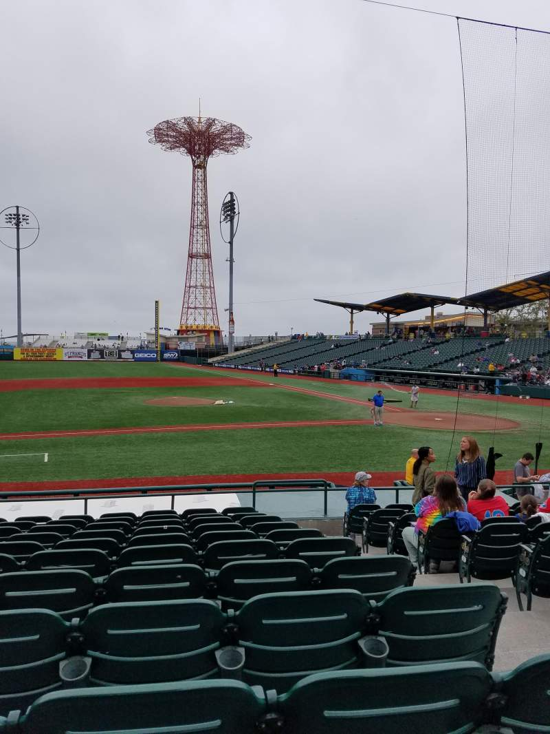 Seating view for MCU Park Section 11 Row O Seat 3