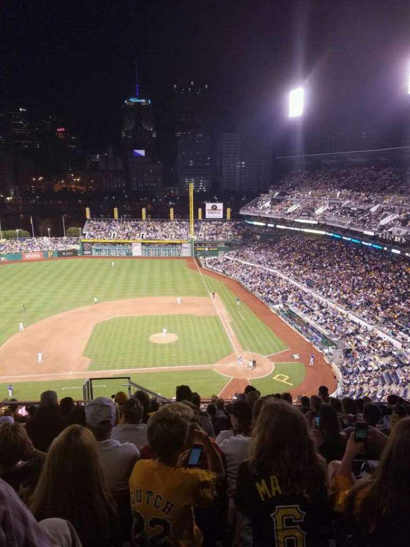 Seating view for PNC Park Section 321 Row u Seat 23