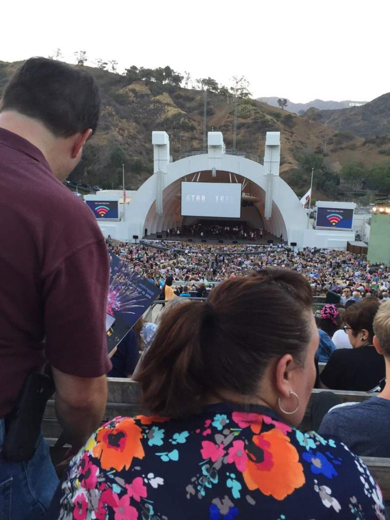 Seating view for Hollywood Bowl Section M2 Row 11 Seat 120