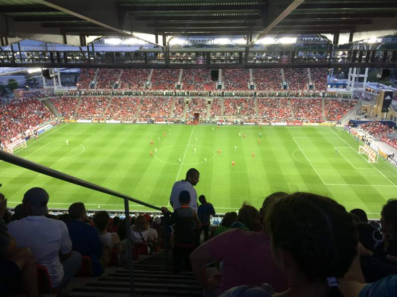 Seating view for BMO Field Section 206 Row 35 Seat 30