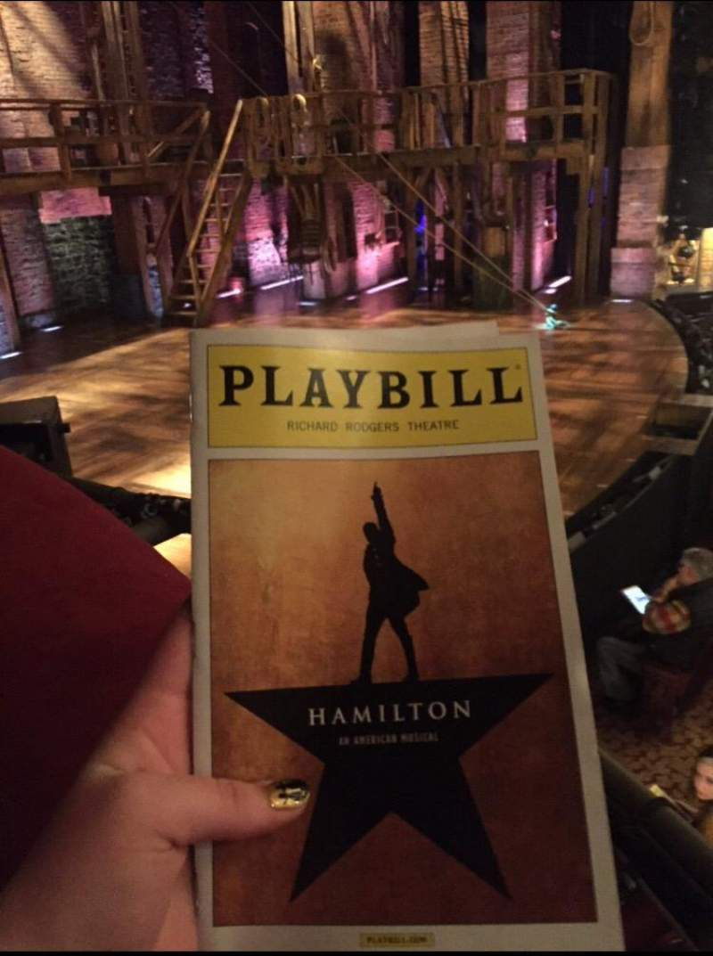 Seating view for Richard Rodgers Theatre Section Box A Seat 3