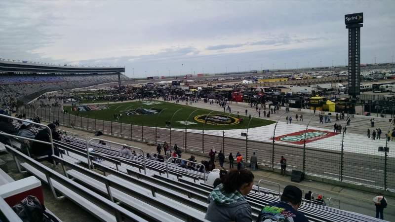 Seating view for Texas Motor Speedway Section 125 Row 25 Seat 13