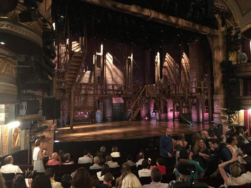 Seating view for Richard Rodgers Theatre Section Orchestra Row M Seat 21
