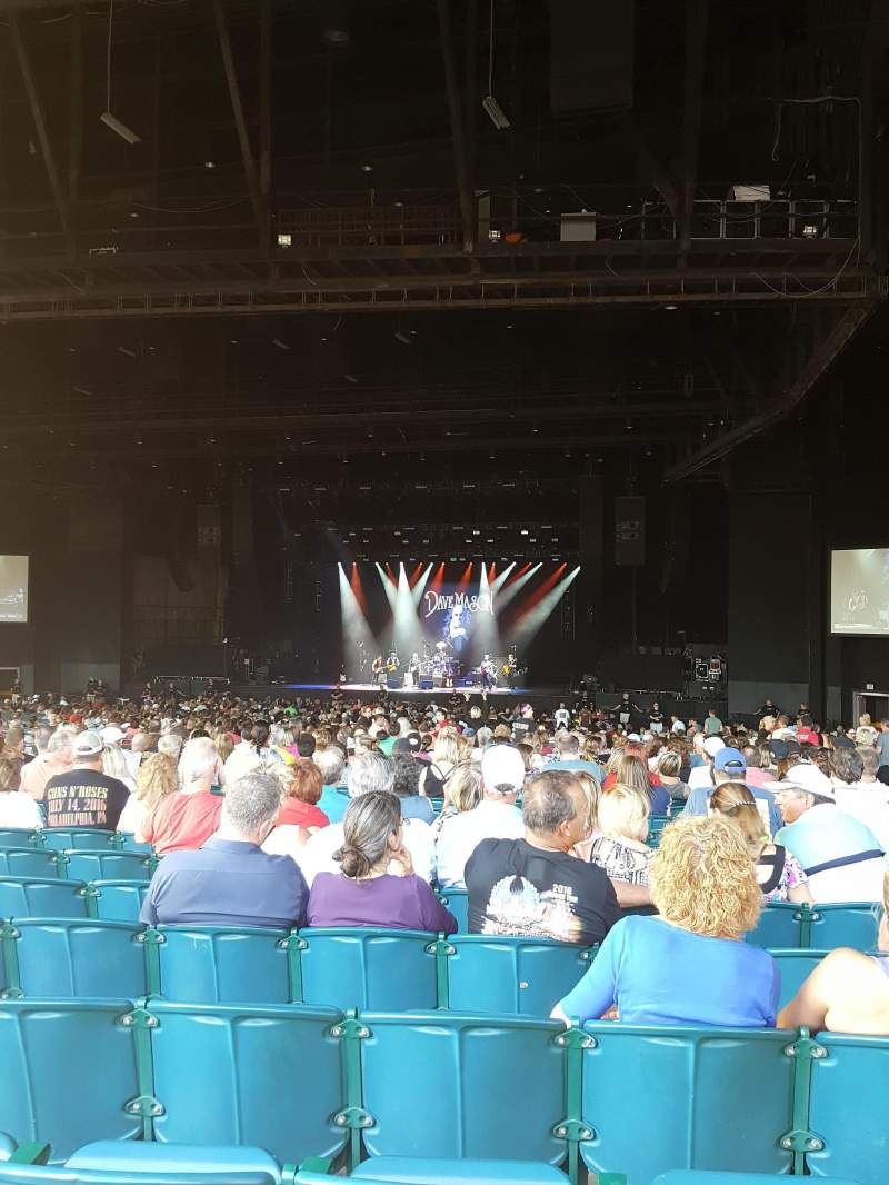 BB&T Pavilion, section: 202, row: V, seat: 1