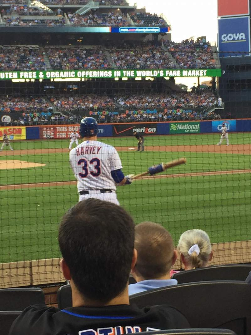 Seating view for Citi Field Section 12 Row 5 Seat 4