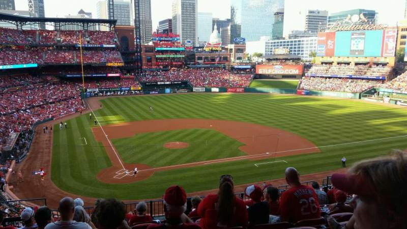 Seating view for Busch Stadium Section 247 Row 9 Seat 6