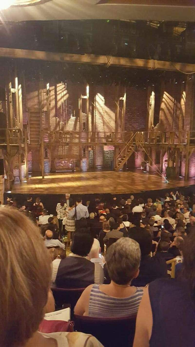 Seating view for Richard Rodgers Theatre Section orchestra Row q Seat 5