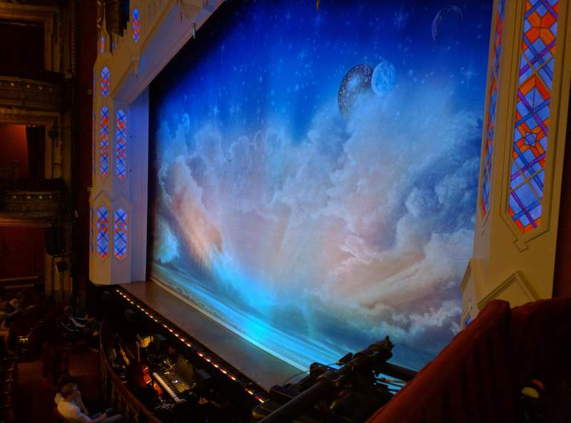 Seating view for CIBC Theatre Section Dress Circle Box 4 Row A Seat 2
