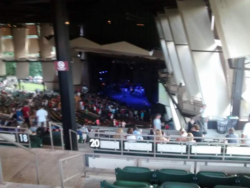 Seating view for Saratoga Performing Arts Center Section 30 Row n Seat 4