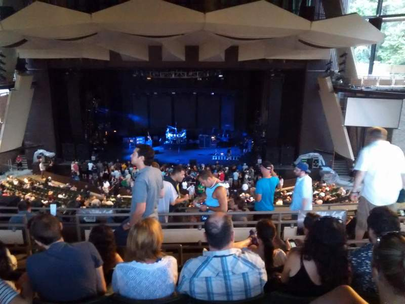 Seating view for Saratoga Performing Arts Center Section 15 Row g Seat 20