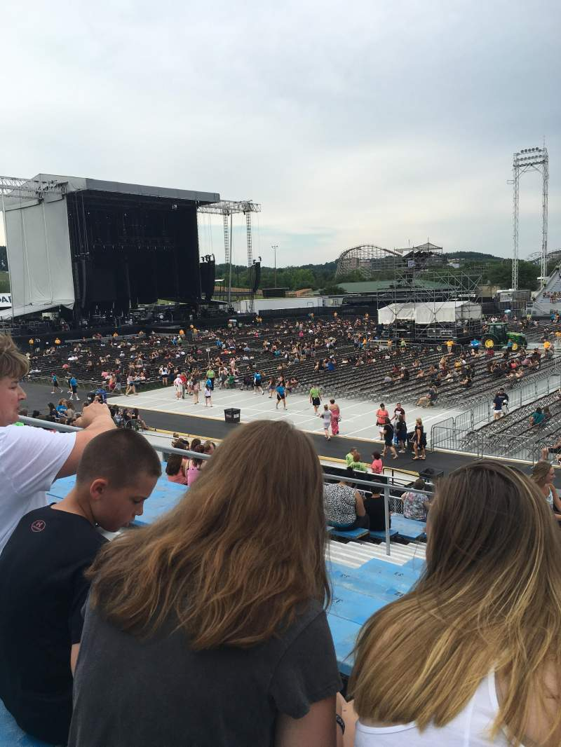 Seating view for Hershey Park Stadium Section 6 Row K Seat 24