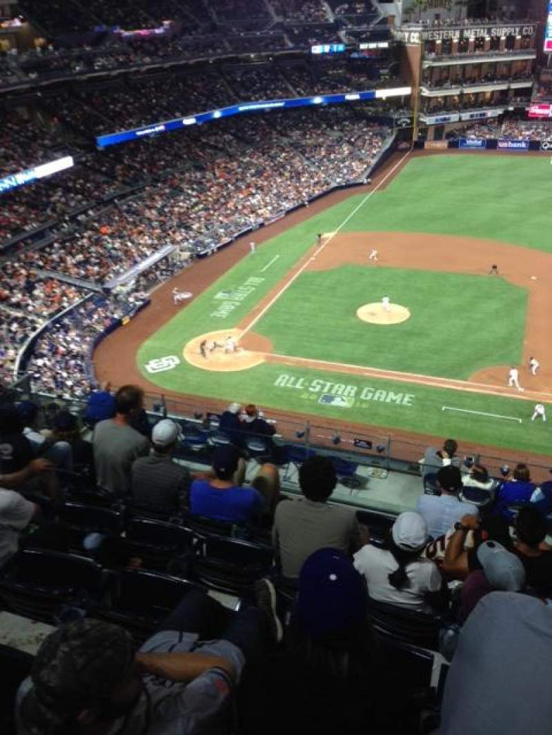 Seating view for PETCO Park Section 311 Row 15 Seat 13