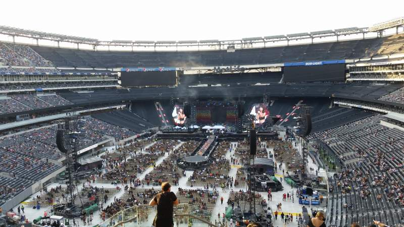 Seating view for MetLife Stadium Section 224b Row 9 Seat 26