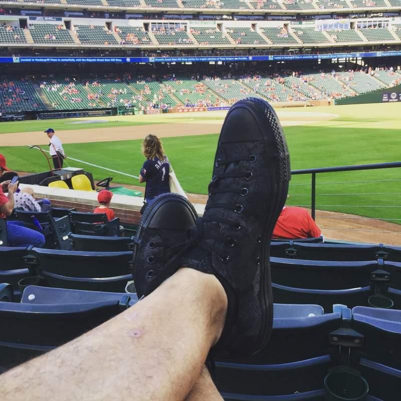 Globe Life Park in Arlington, section: 39, row: 7, seat: 12