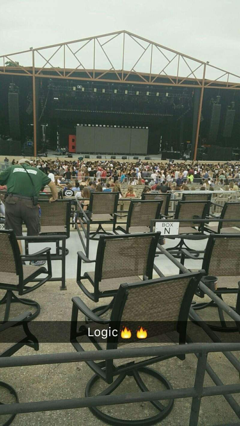 Seating view for Providence Medical Center Amphitheater Section 11 Row H Seat 6