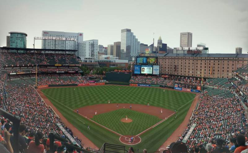 Seating view for Oriole Park at Camden Yards Section 336 Row 23 Seat 19