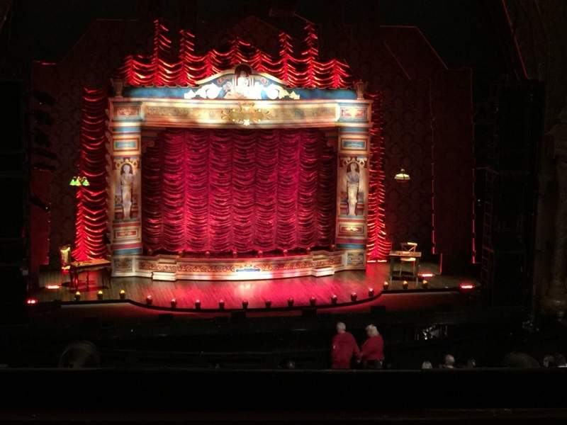 Seating view for 5th Avenue Theatre Section 6 Row F Seat 1