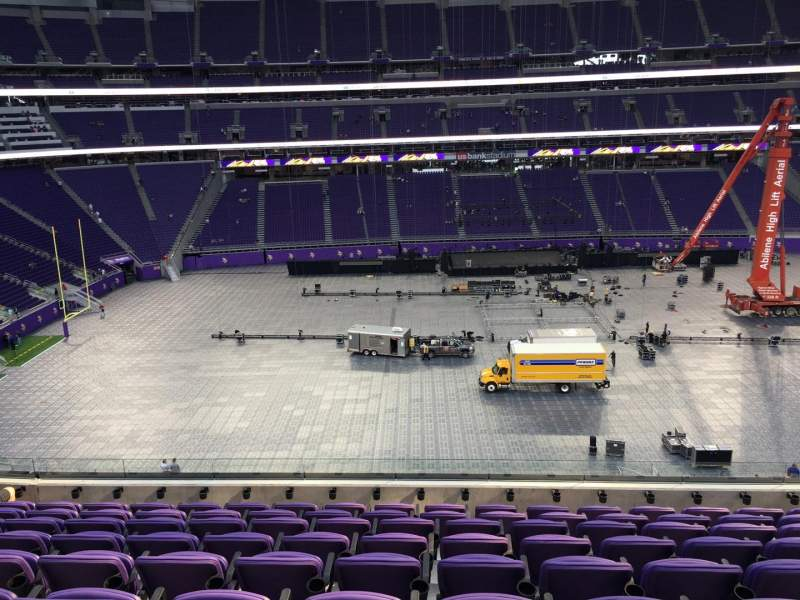 Seating view for U.S. Bank Stadium Section C9 Row 9 Seat 7