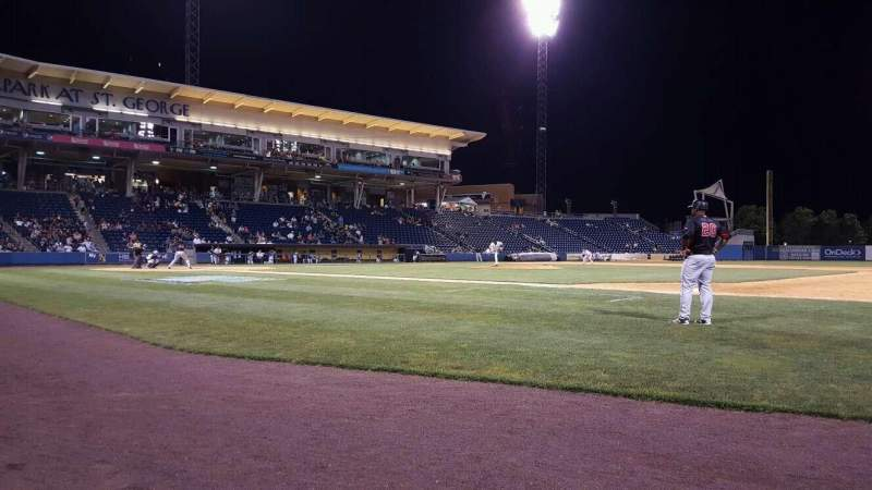 Seating view for Richmond County Bank Ballpark Section 13 Row A Seat 2
