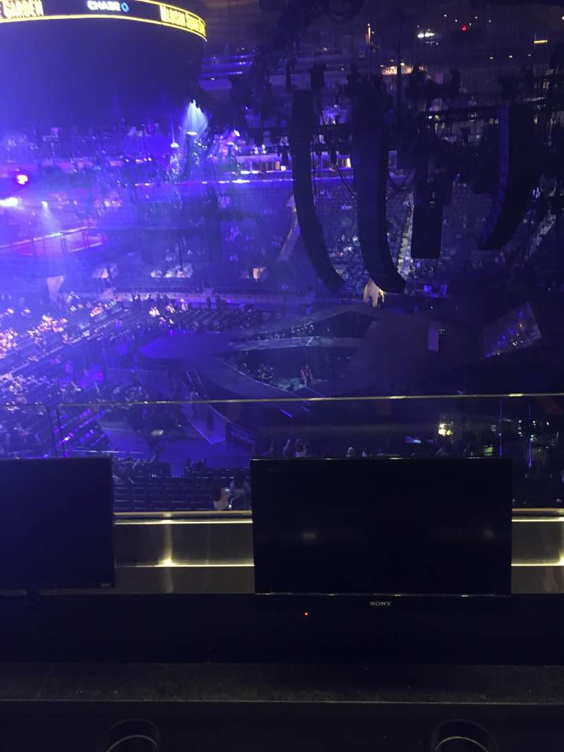 Madison Square Garden, section: 213, row: 2, seat: 7