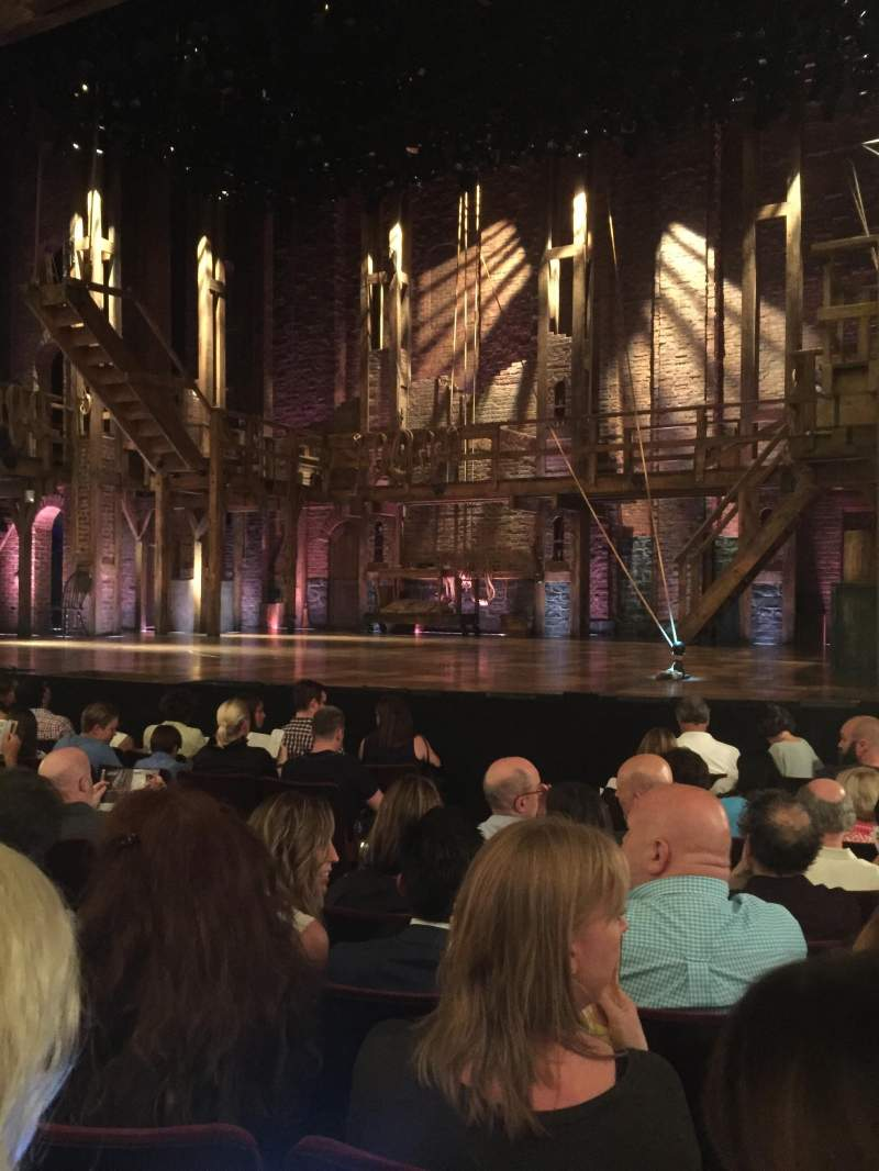Seating view for Richard Rodgers Theatre Section Right orchestra Row H Seat 8