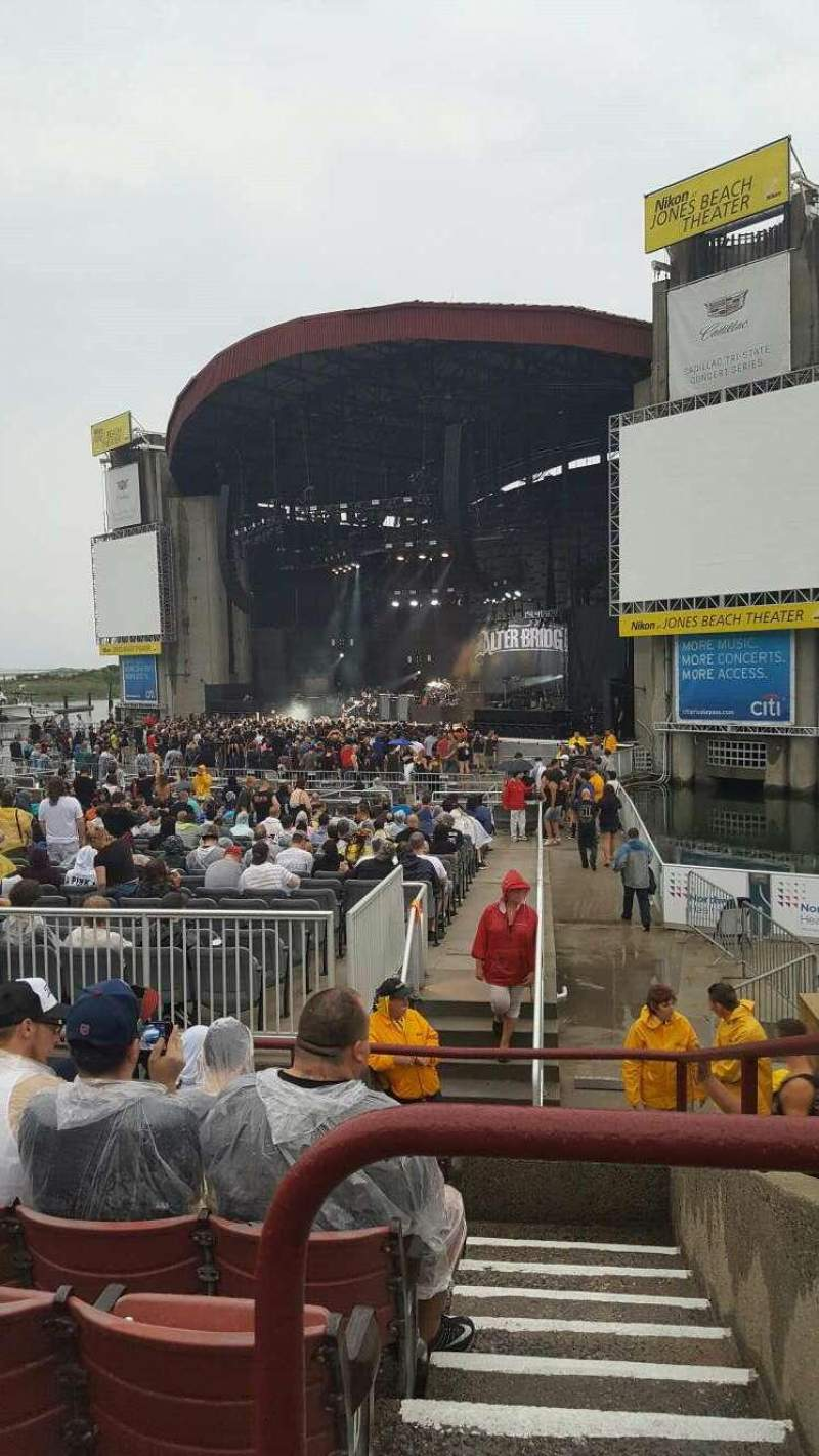 Seating view for Jones Beach Theater Section 1 Row G Seat 2