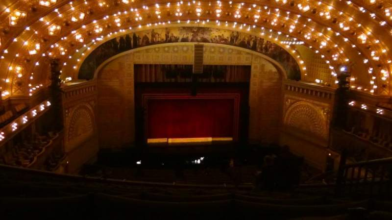 Seating view for Auditorium Theatre Section Balcony Row N Seat 410