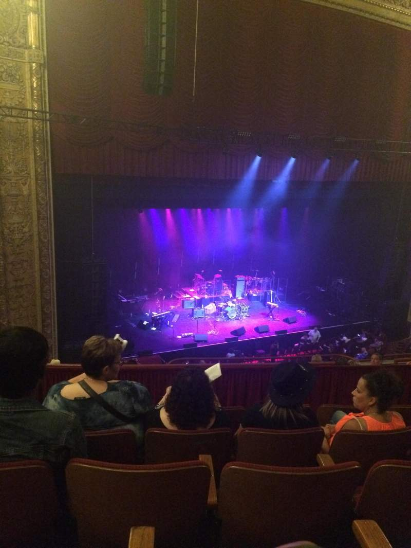 Seating view for Chicago Theatre Section 2L Row E Seat 219