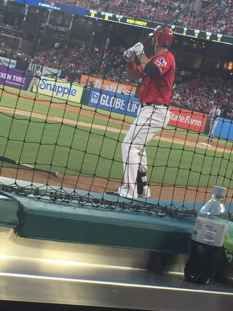 Seating view for Globe Life Park in Arlington Section 28 Row B Seat 2