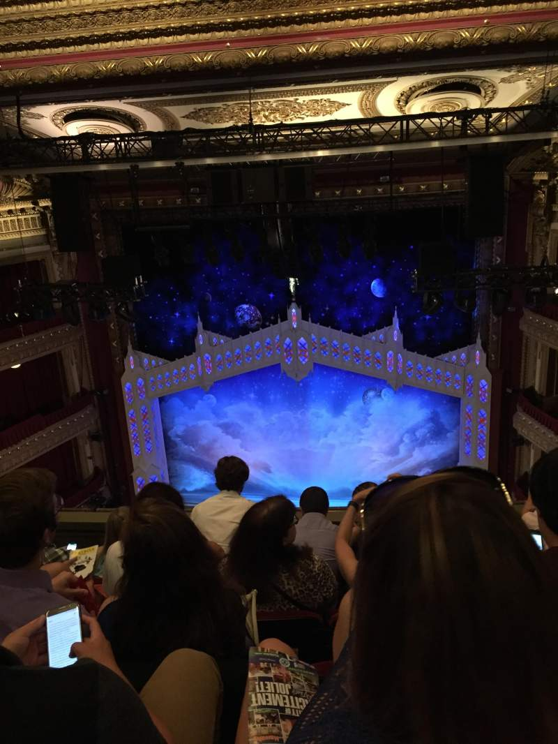 Seating view for PrivateBank Theatre Section Balcony R Row E Seat 412