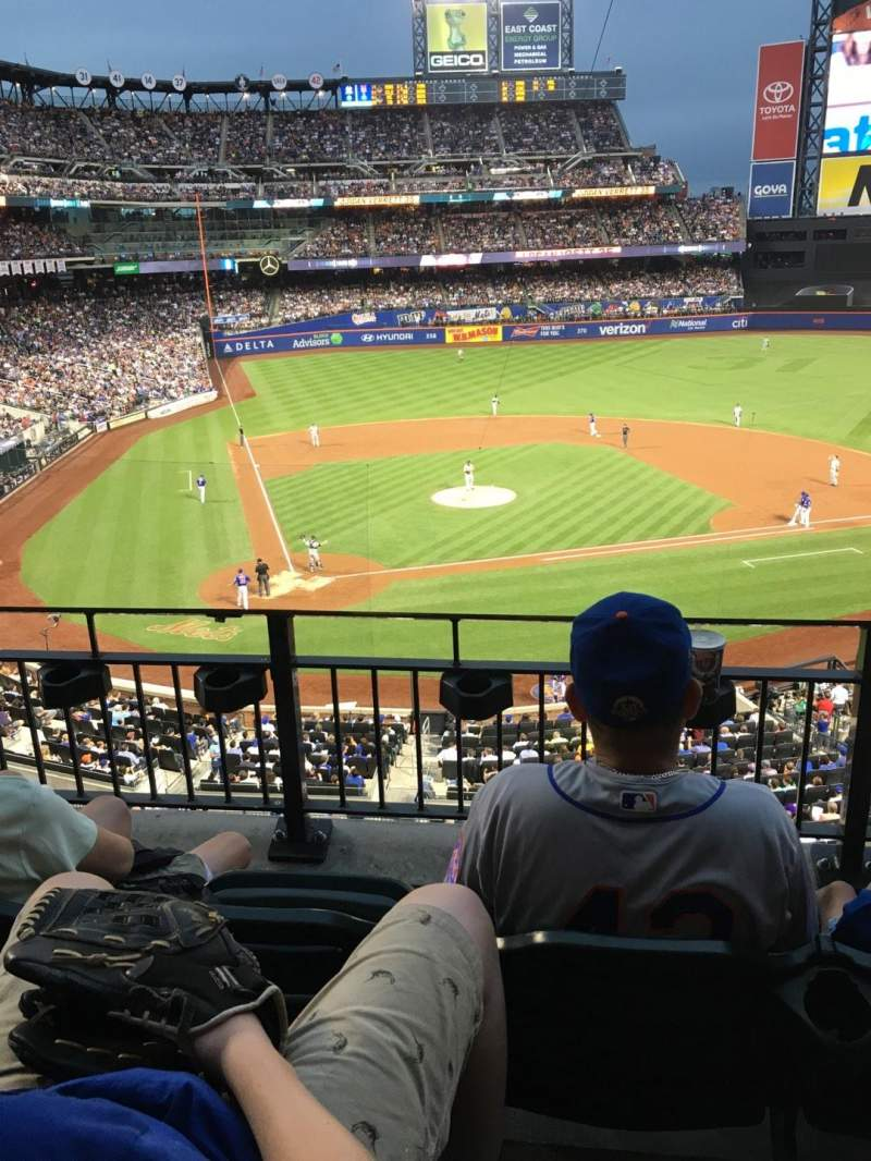 Seating view for Citi Field Section 314