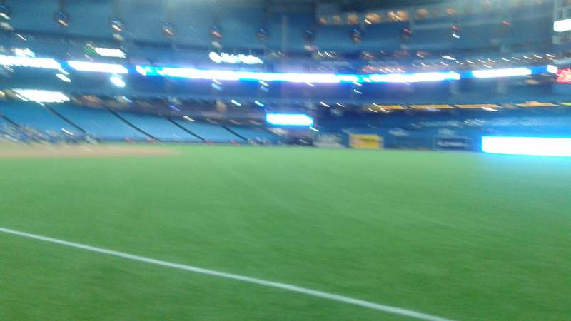 Seating view for Rogers Centre Section 529R Row 17 Seat 7