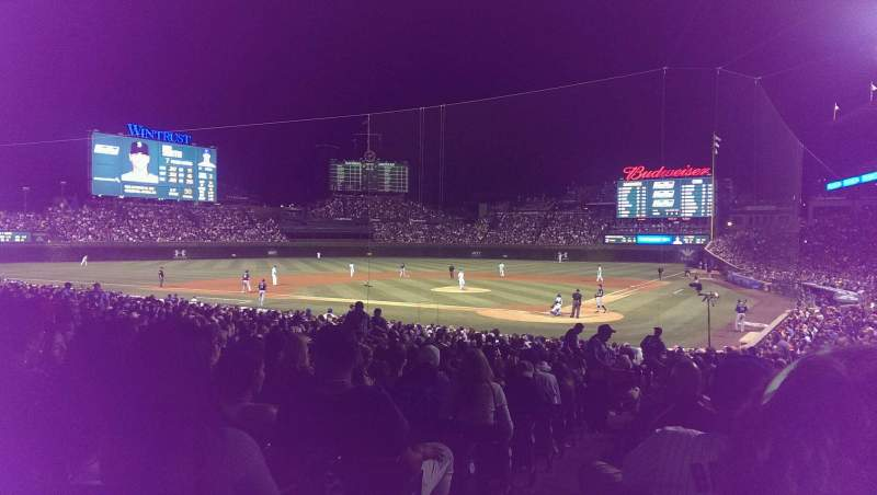 Wrigley Field, section: 119, row: 14, seat: 1
