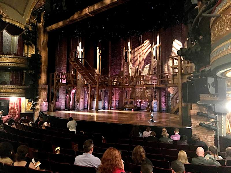 Seating view for Richard Rodgers Theatre Section Orchestra Right Row L Seat 22