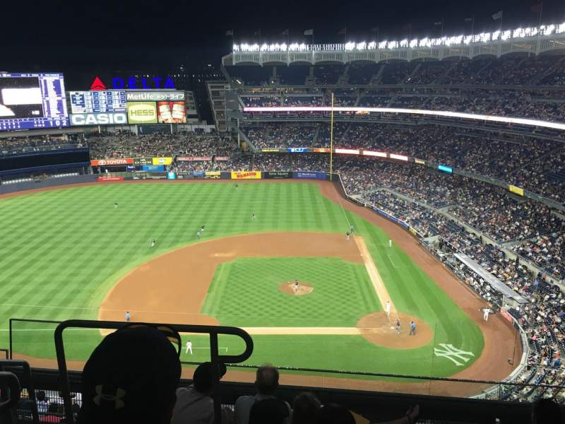 Seating view for Yankee Stadium Section 423 Row 5 Seat 20