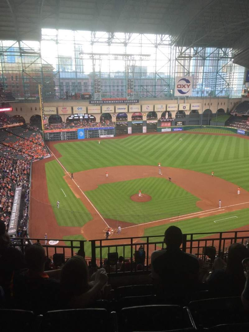 Seating view for Minute Maid Park Section 421 Row 4 Seat 11
