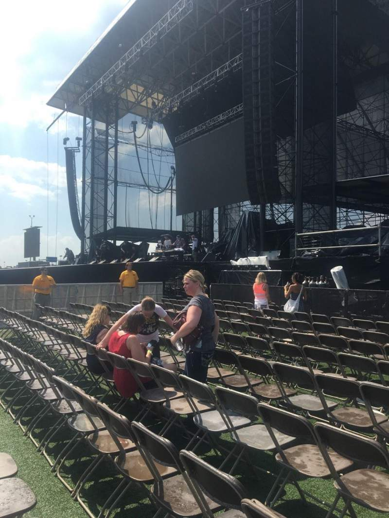 Seating view for Hershey Park Stadium Section A Row 10 Seat 12