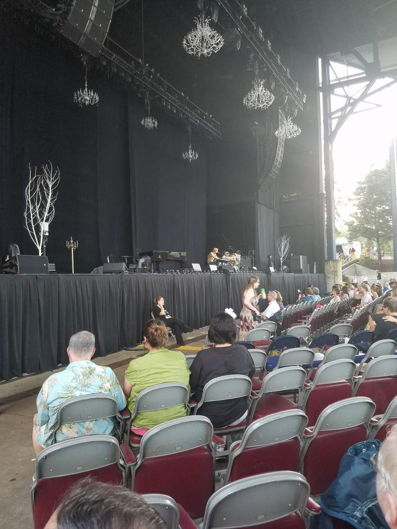 Seating view for Jiffy Lube Live Section Orchestra 3 Row K Seat 21