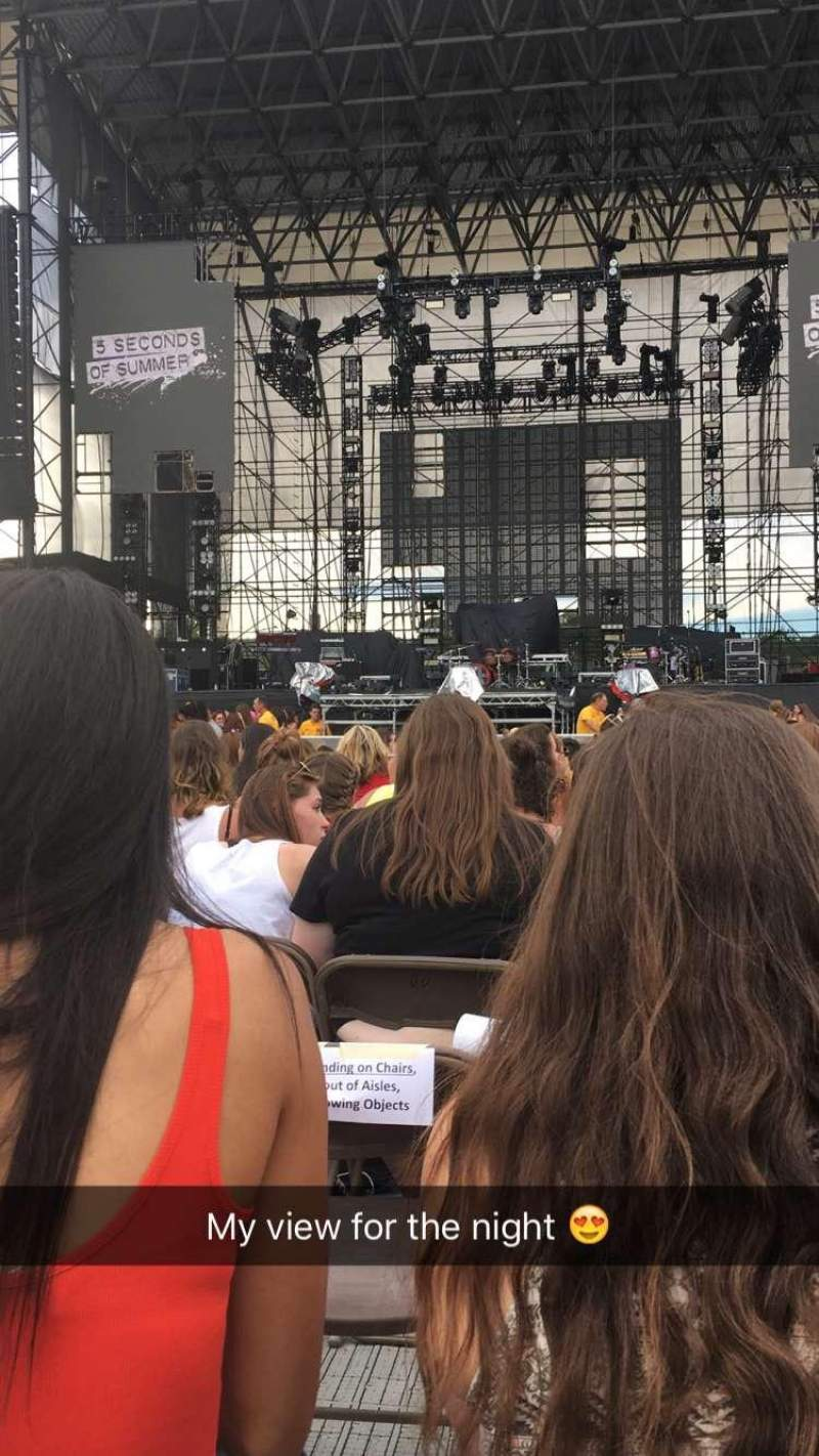 Seating view for Hershey Park Stadium Section b Row 26 Seat 17
