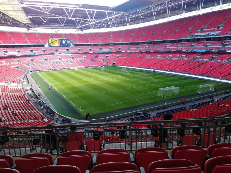 Seating view for Wembley Stadium Section 243 Row 11 Seat 100