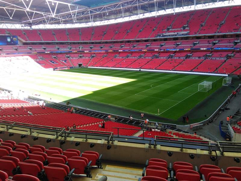 Seating view for Wembley stadium Section 245