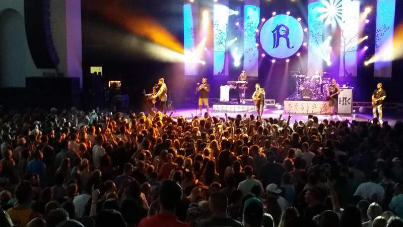 St. Augustine Amphitheatre, section: 102, row: N, seat: 107