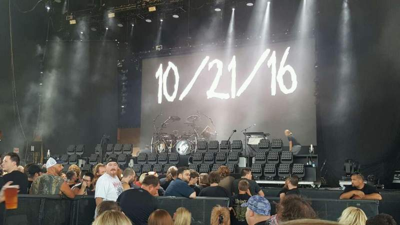 Seating view for Klipsch Music Center Section C Row N Seat 3
